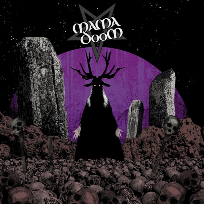 Mama Doom - Ash Bone Skin N Stone Vinyl LP  |  Purple/Black