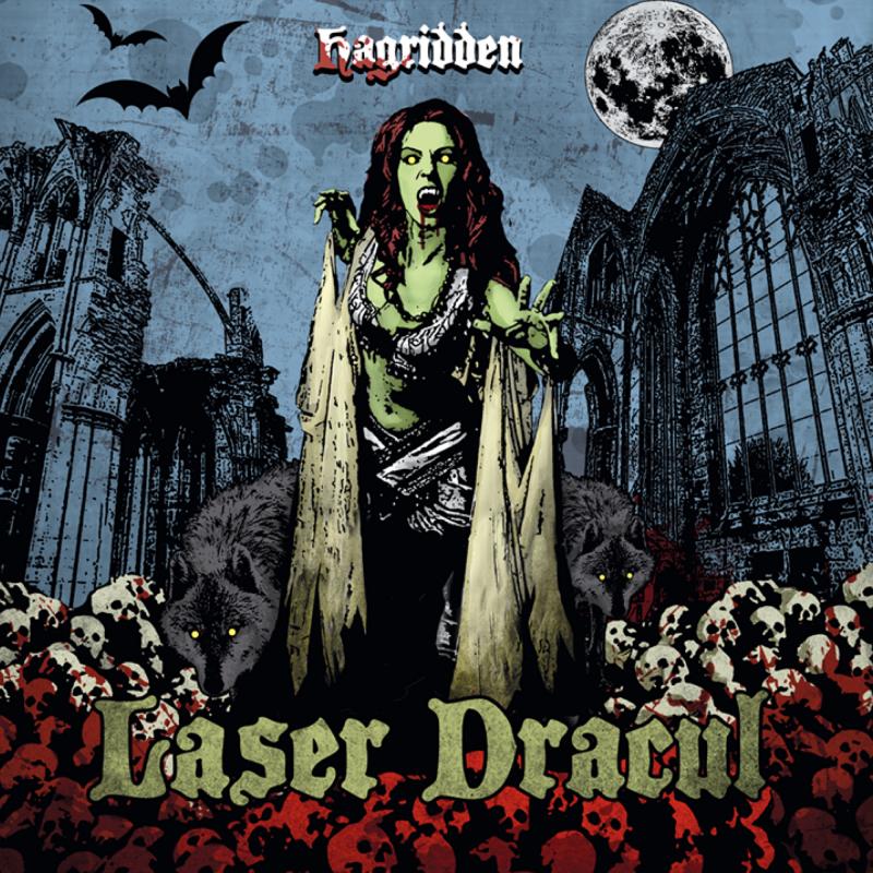 Laser Dracul - Hagridden Vinyl LP     Tri-color